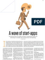 "Washington Post ""A Wave of start-apps"" (3-7-11)"