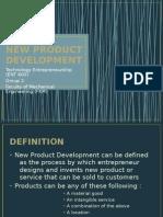 NEW PRODUCT DEVELOPMENT (EMD8M3A)