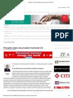 JURIDICE » Principiile (uitate) ale procedurii insolventei (III)