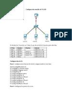 Configuración sencilla de VLANS IPV6
