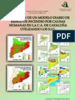 Incendios Forestales - Aplicación de un modelo diario de riesgo de incendio