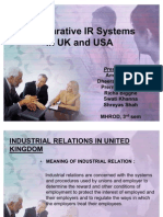 IR in UK and USA