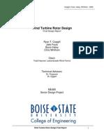 RotorDesignFinal Report