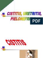 Cistitis, uretritis y pielonefritis