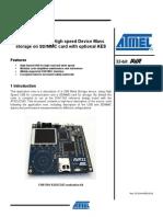 mmc sd dataflash atmel doc32132