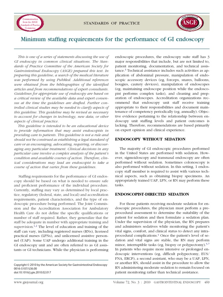 Printable Endoscopy: Minimal Staffing Endoscopy