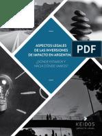 Aspectos Legales de Las Inversiones de Impacto en Argentina