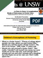 how children fare at care