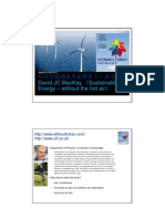 2011-03 - Sustainable Energy - Without the Hot Air - CX