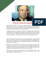 """Guterres nomeou suspeito do Caso """"Freeport""""."""