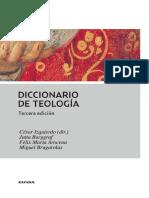 IZQUIERDO C Diccionario de Teologia 3a Ed 2014