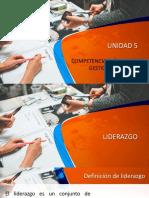 Unidad 5 Competencias Basicas de Gestion Educativa Parte i