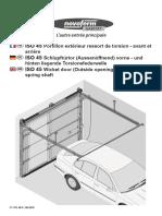 Notice de pose ISO 45 portillon extérieur /PUIGMETAL®