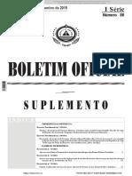 Sistema Nacional de Avaliação BO 31-12-2015