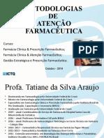 SLIDE DE AULA - ATENÇÃO FARMACÊUTICA