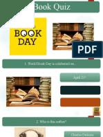 World Book Day - Quiz