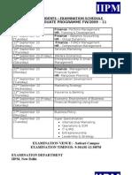 SS&Fw-09-11-Exam-Schedule