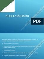 2º ano - NEOCLASSICISMO