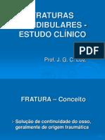 FRATURAS MANDIBULARES - ESTUDO. CLÍN. - q.