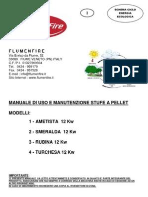 Manuale Flumenfire 12 Kw