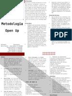 Open Up metodología