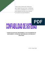 CONFIABILIDAD DE SISTEMAS