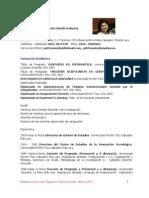 Curriculum Yelitza Oviedo 2011