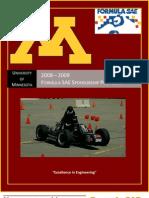 FSAE Sponsorship Proposal 2009
