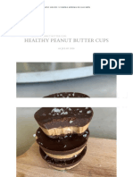 Healthy Peanut Butter Cups – Culto.life