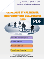 Catalogue Des Formations Qualifiantes Année 2019