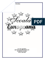 Scoala Europeana Nr 151 Septembrie 2020 - 12 Buc
