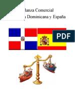 Informe Balanza Bilateral Entre Republica Dominicana y España Grupo No.3