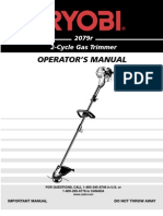 Ryobi 2079r trimmer manual