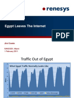 Renesys. Egypt Leaves The Internet