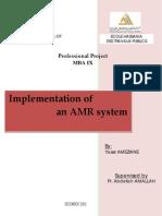 Implementation of an AMR System V2