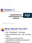 2- Organizational Environments and Cultures