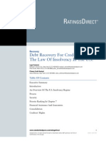 S&P Law of Insolvency (US)