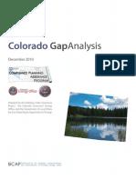 Colorado Gap Analysis MASTER