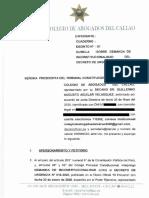 Demanda de inconstitucionalidad Exp. 008-2020 PI/TC