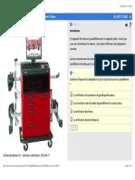 Préparation pour le contrôle du parallélisme(alignement) - Bases