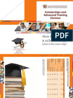 Trinidad Scholarship Brochure