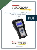 OBDMAP - GM  -LEITURA DE SENHA ME7.9.9 ASTRA,VECTRA E ZAFIRA 2011 A 2012 - REV 1