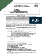 Frances 3 - Examen y criterios de correcci¢n