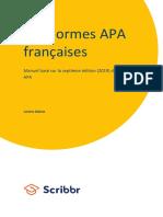 Manuel APA de Scribbr 7eme Edition