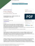 Revista de filosofía - POSMODERNIDAD Y OBRA DE ARTE_ DE HEIDEGGER A VATTIMO
