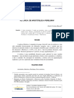 RETÓRICA DE ARISTÓTELES A PERELMAN-Mazzali