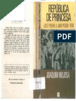 INOJOSA, Joquim. República de Princesa