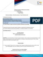 Activities guide and evaluation rubric - Unit 2 - Task 4 - Speaking Production.en.es