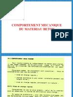 COMPORTEMENT DU BETON (1)