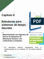 PPTs - Capítulo 6_ Estruturas Para Sistemas de Tempo Discreto